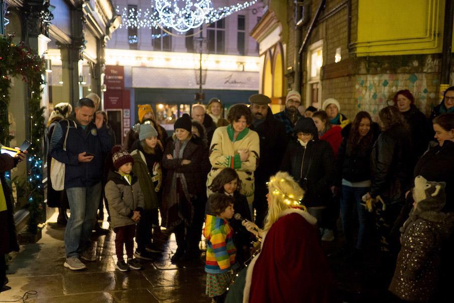 11th December, Danz Studio performing, Folkestone