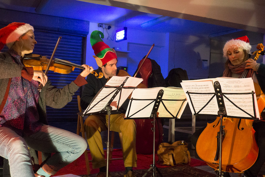 17th December, Sacconi Quartet, Folkestone