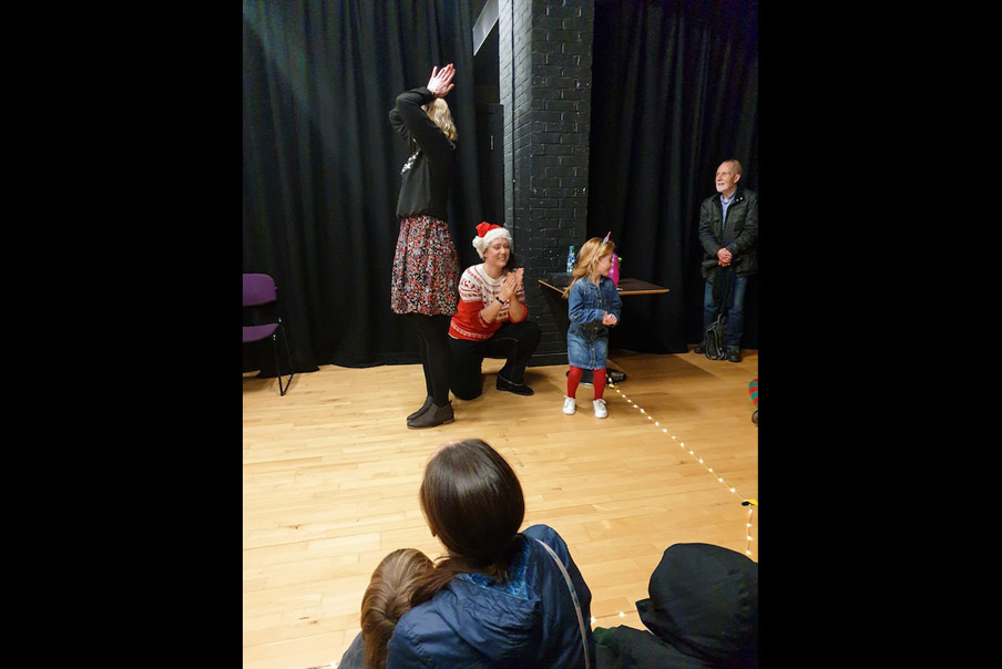 21th December, Improv Gym team, Folkestone