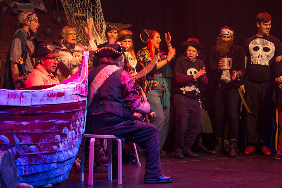 6th December, pirate tales from Touchbase in Folkestone