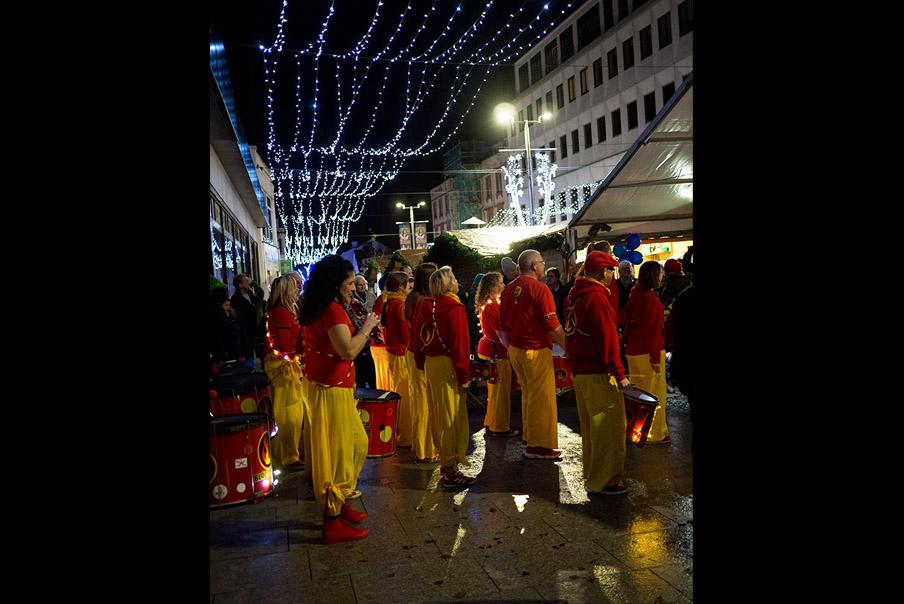 8th December, Bloco Fogo band, Folkestone