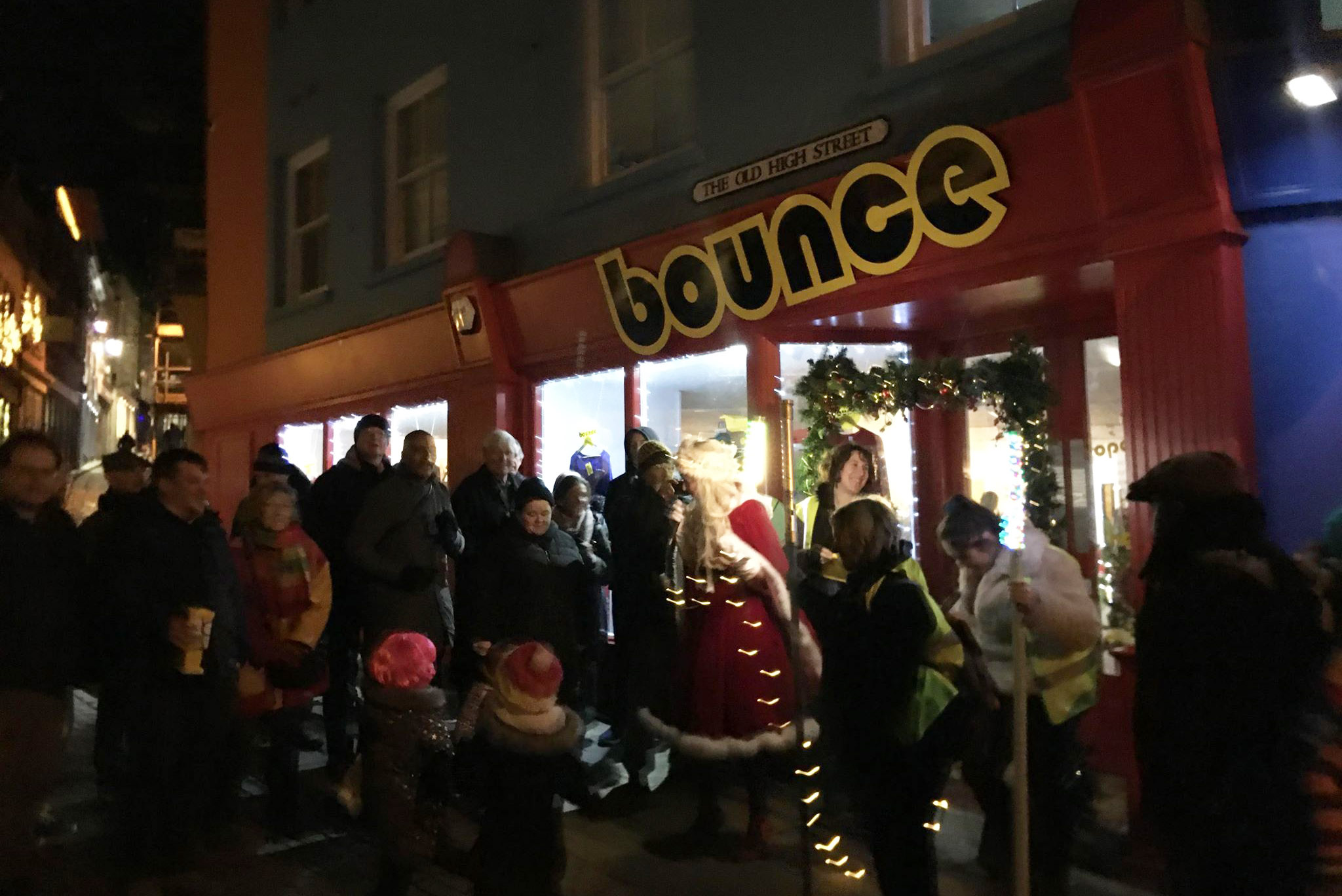 13th December, Confidance at Bounce, Folkestone